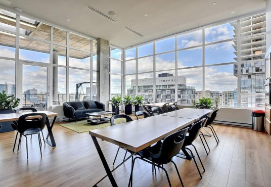 1090 Bleury Montreal condo for rent