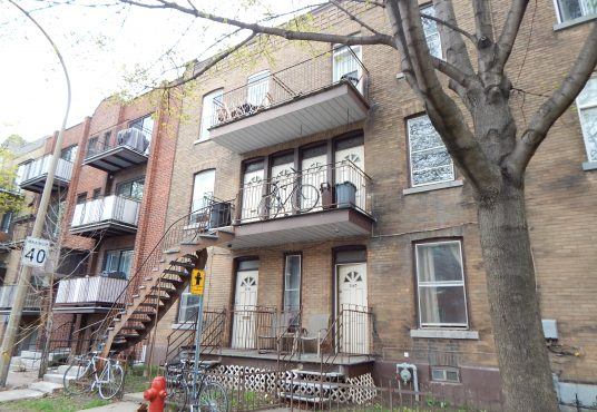 3553 rue Verdun Verdun Montreal - 2-bedroom apartment for rent