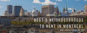 Read more about the article Where to rent in Montreal? This is the million-dollar life-changing question. Here are our favourite 5 areas to rent.