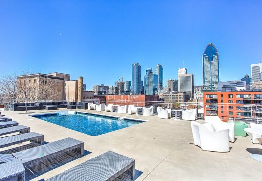 Condo for rent in Griffintown Montreal