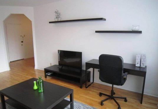 1-bedroom apartment for rent in CDN - 4505 Dupuis