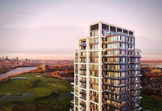Symphonia - Brand new condo for rent in Nun's Island