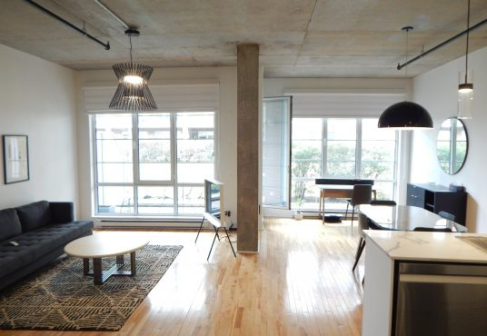 4250 St Ambroise - Loft for rent in St Henri